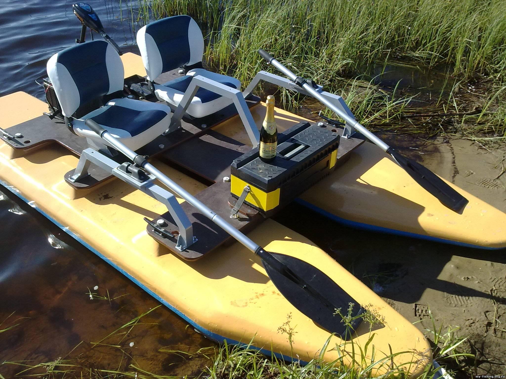 лодки и катамараны из пенопласты своими руками