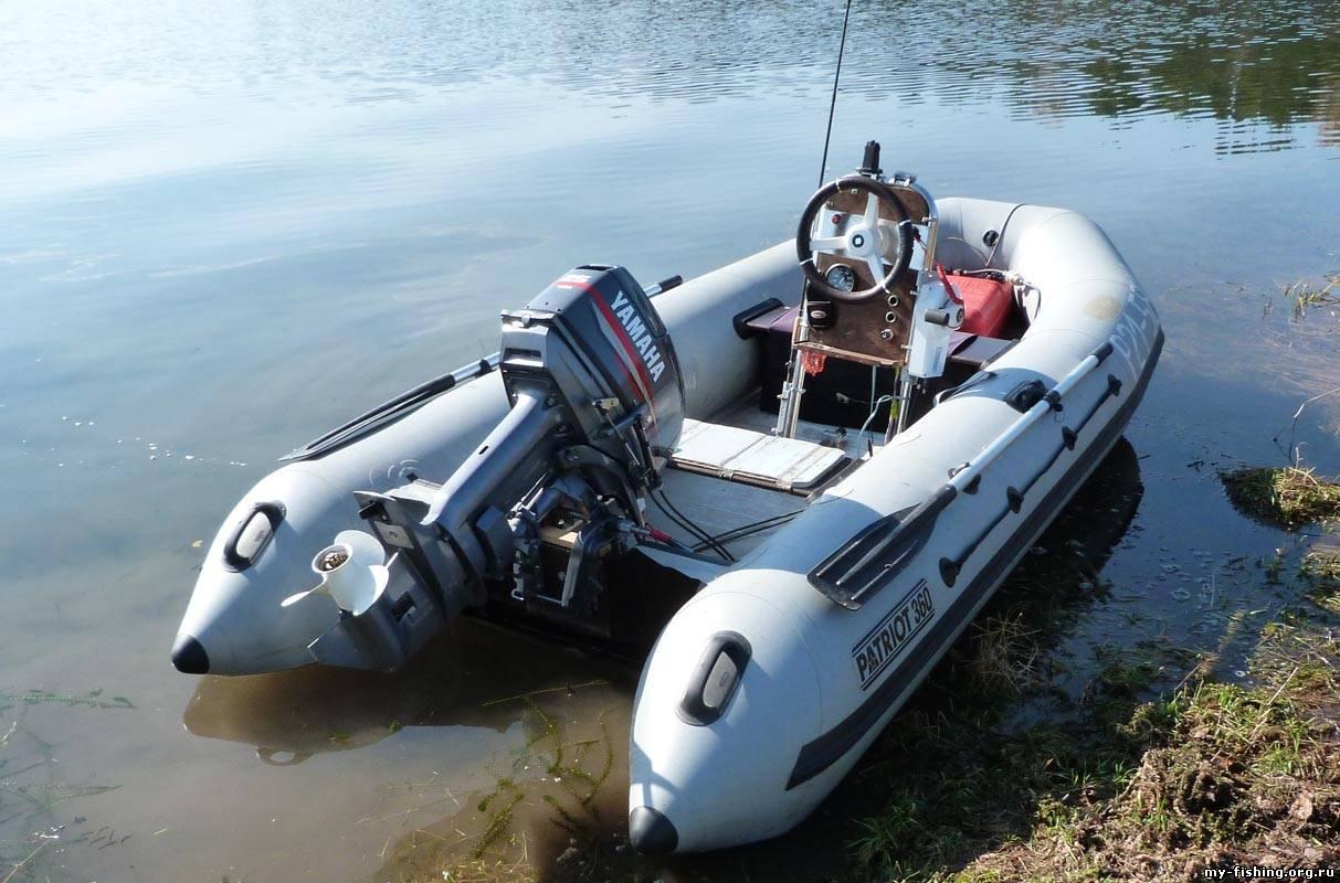 на 380 лодку какой ставить мотор