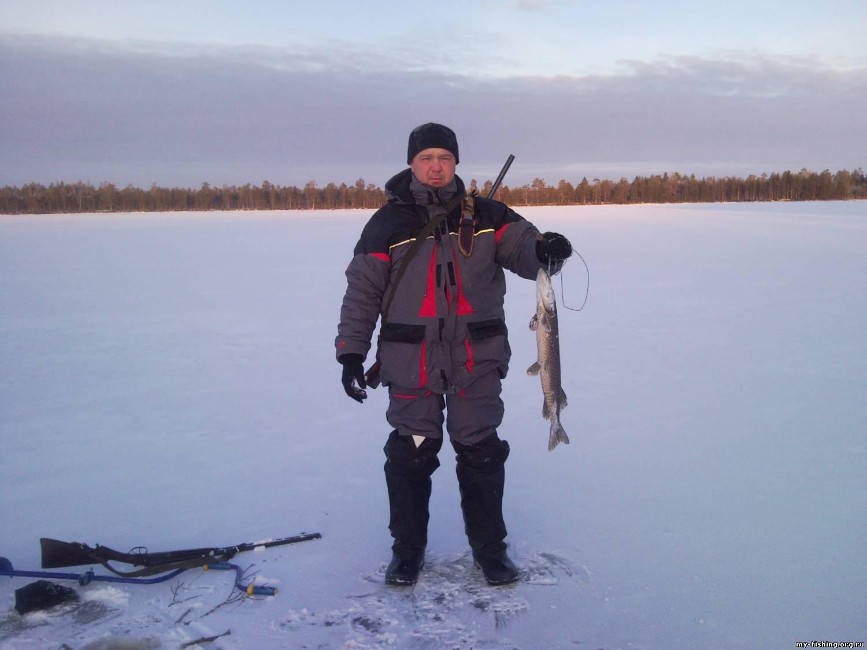 вокшозеро рыбалка