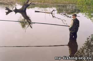 ловля на мормышку летом