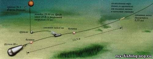 Бездонные уловы - специальная оснастка на карпа