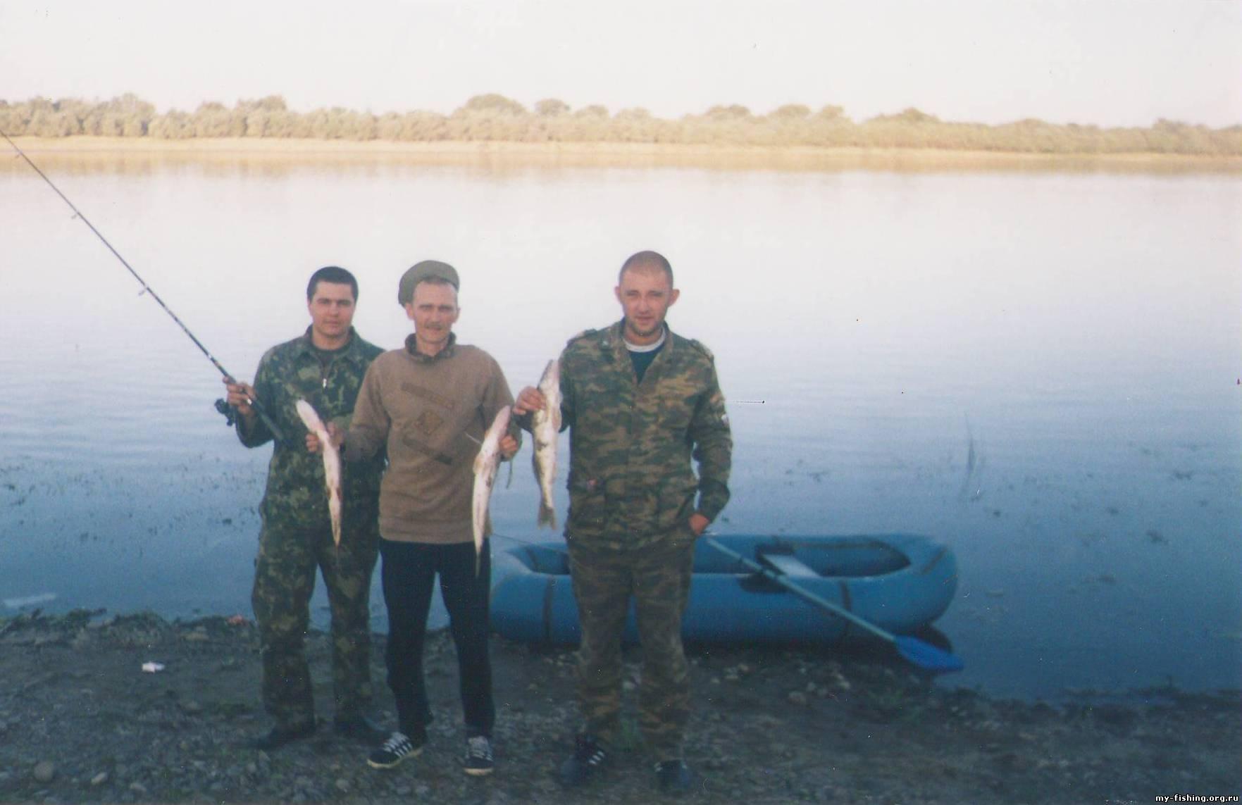 р. Ашулук. Рыбалка