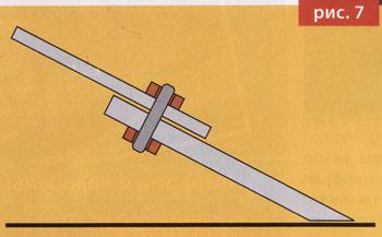 Ледобур. Заточка ножей. Рис.7