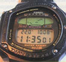часы со встроенным барометром