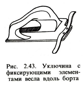 уключины для надувной лодки