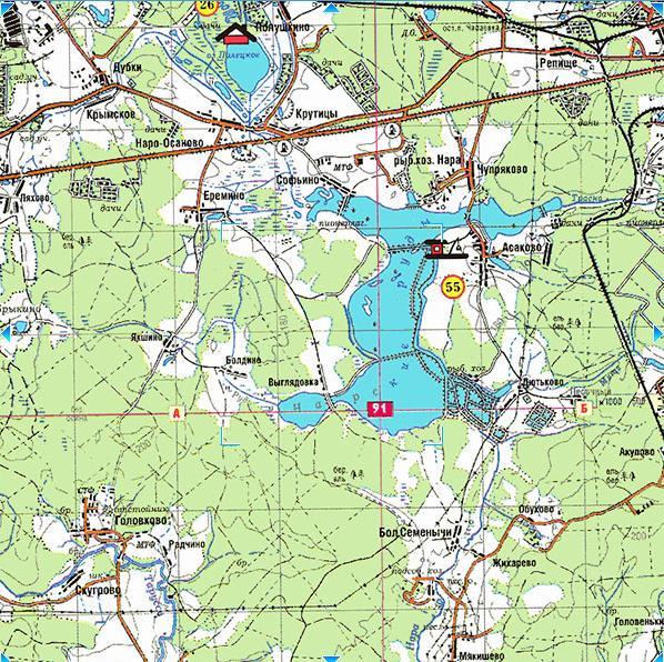 Карта глубин волгоградского